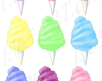 340x270 Cotton Candy Clip Art Designer Resources Candy Clipart