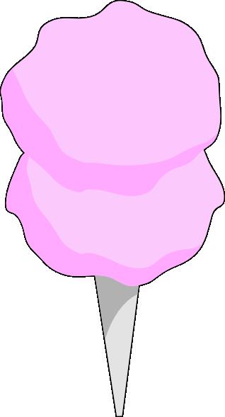 318x589 Pink Cotton Candy Clip Art