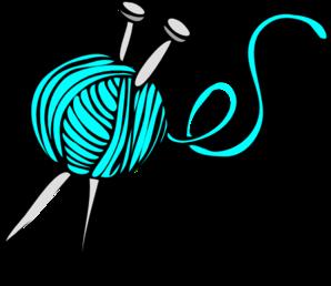 298x258 Turquoise Yarn Clip Art
