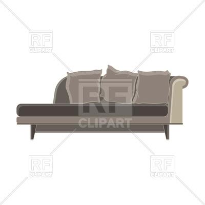400x400 Modern Sofa Flat Icon