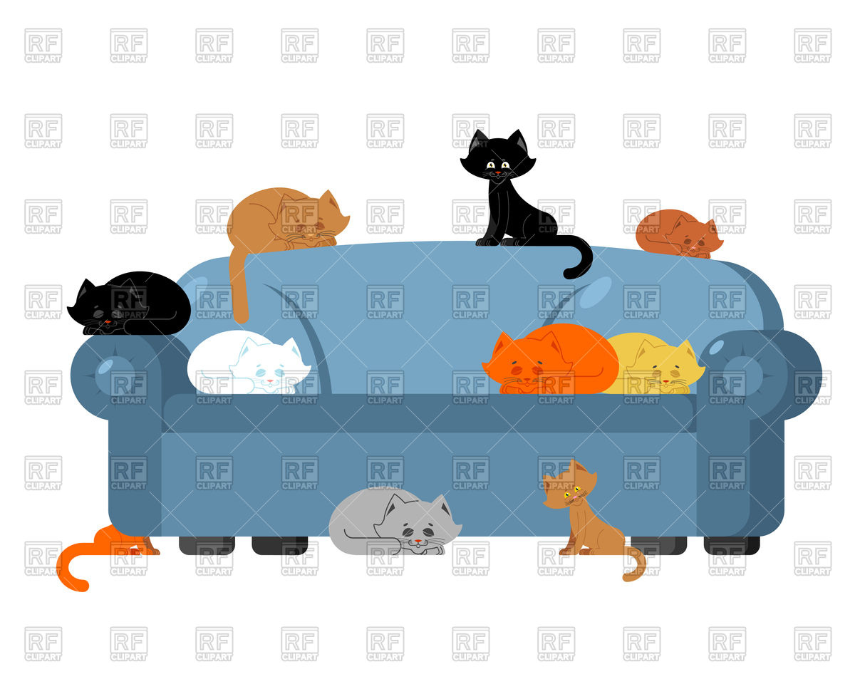 1200x960 Cats On Couch