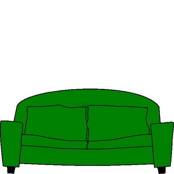 600x599 Sofa Clip Art