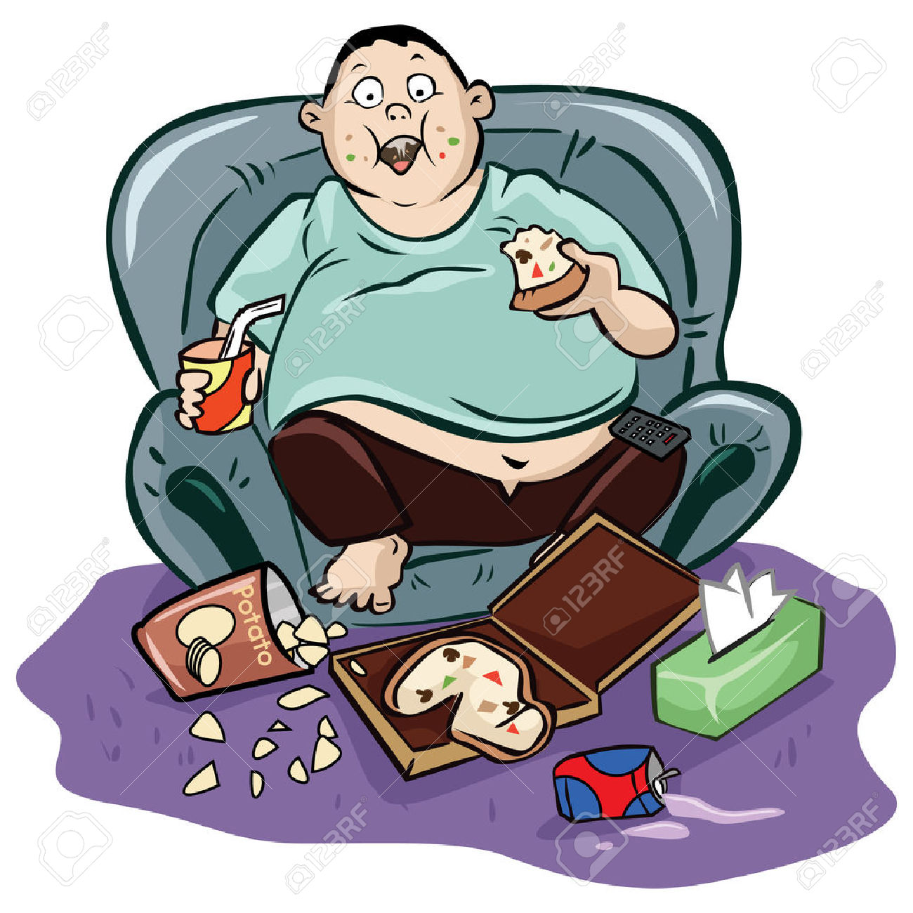 1300x1300 Clipart Couch Potato