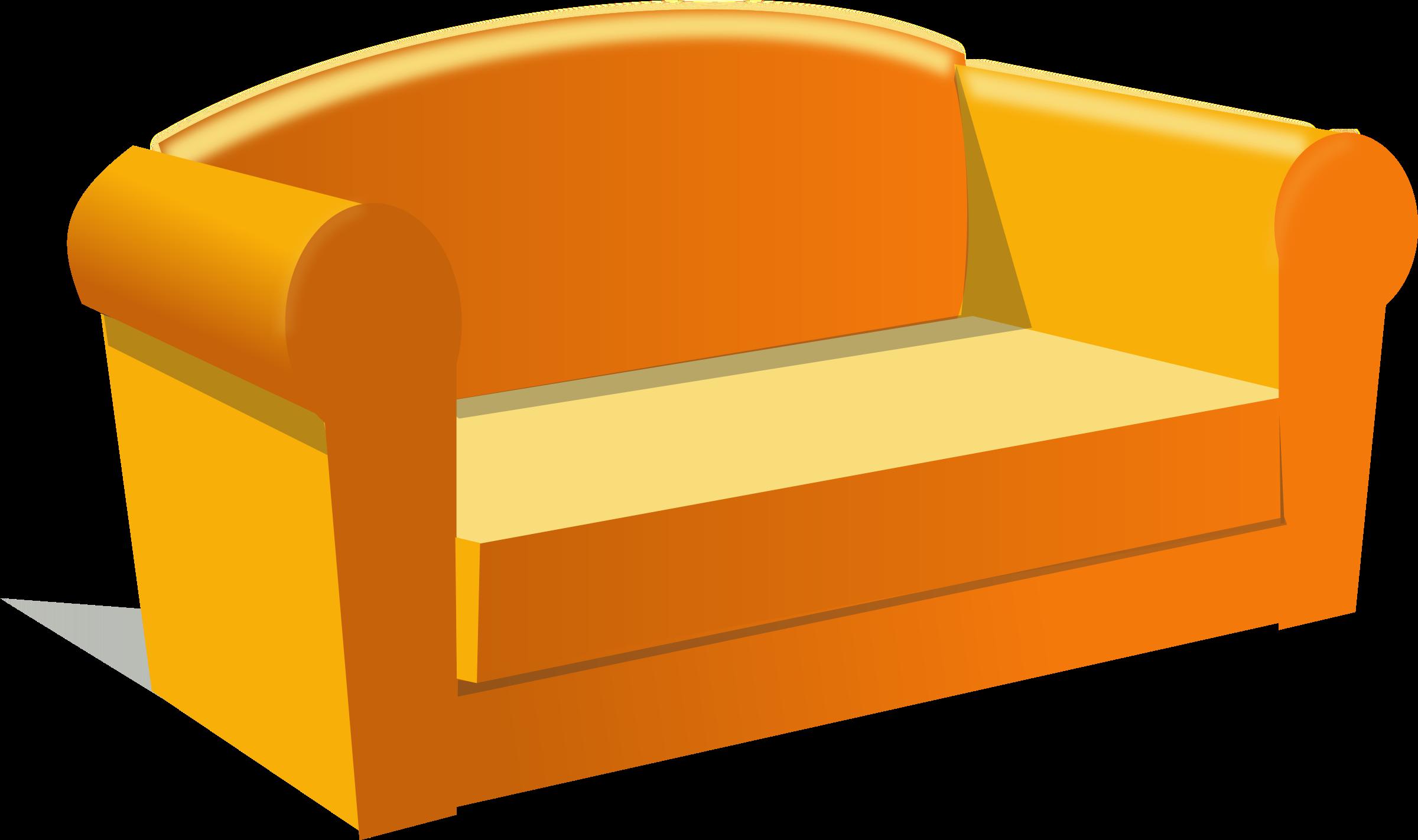 2400x1422 Clip Art Sofa Clip Art