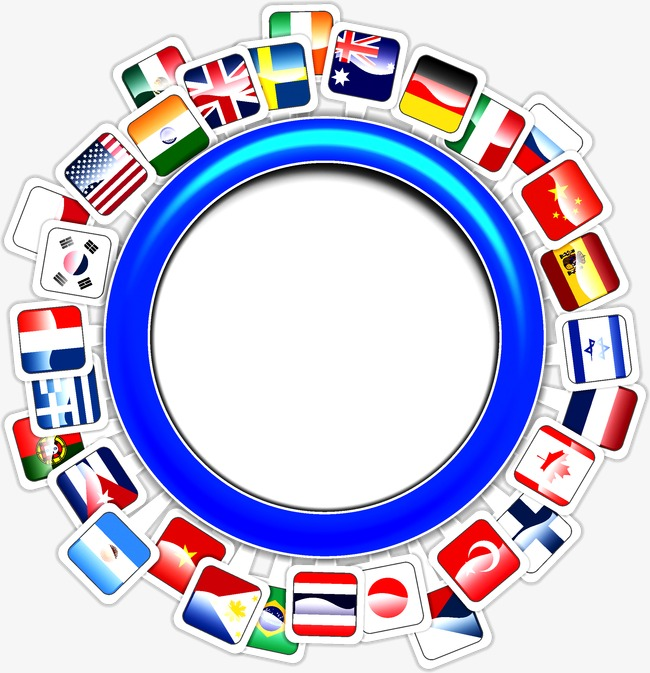 650x673 Countries Flags Ring, World, Each Country, Flag Png And Vector