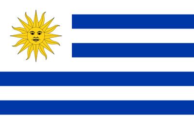 400x267 Uruguay Flag Clipart