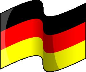 300x251 Waving German Flag Clip Art