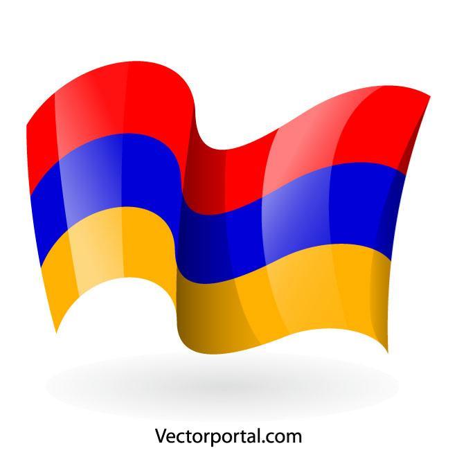 660x660 Armenian Flag Vector Clip Art
