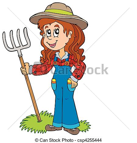 450x470 Country Girl Clipart Cowgirl Clip Art Vector Csp5981706