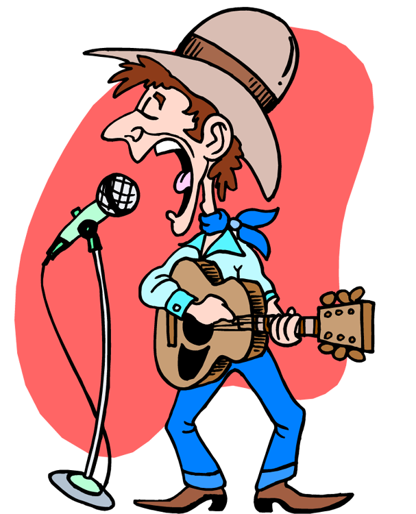 607x750 Collection Of Country Western Music Clip Art High Quality