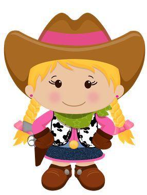 286x380 Cowgirl Vaqueira Country Western Velho Oeste Festa