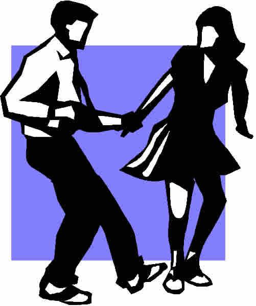 501x599 Dance Club Clipart