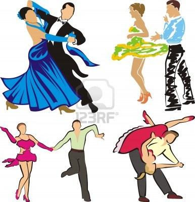 386x400 Clipart Ballroom Dancers