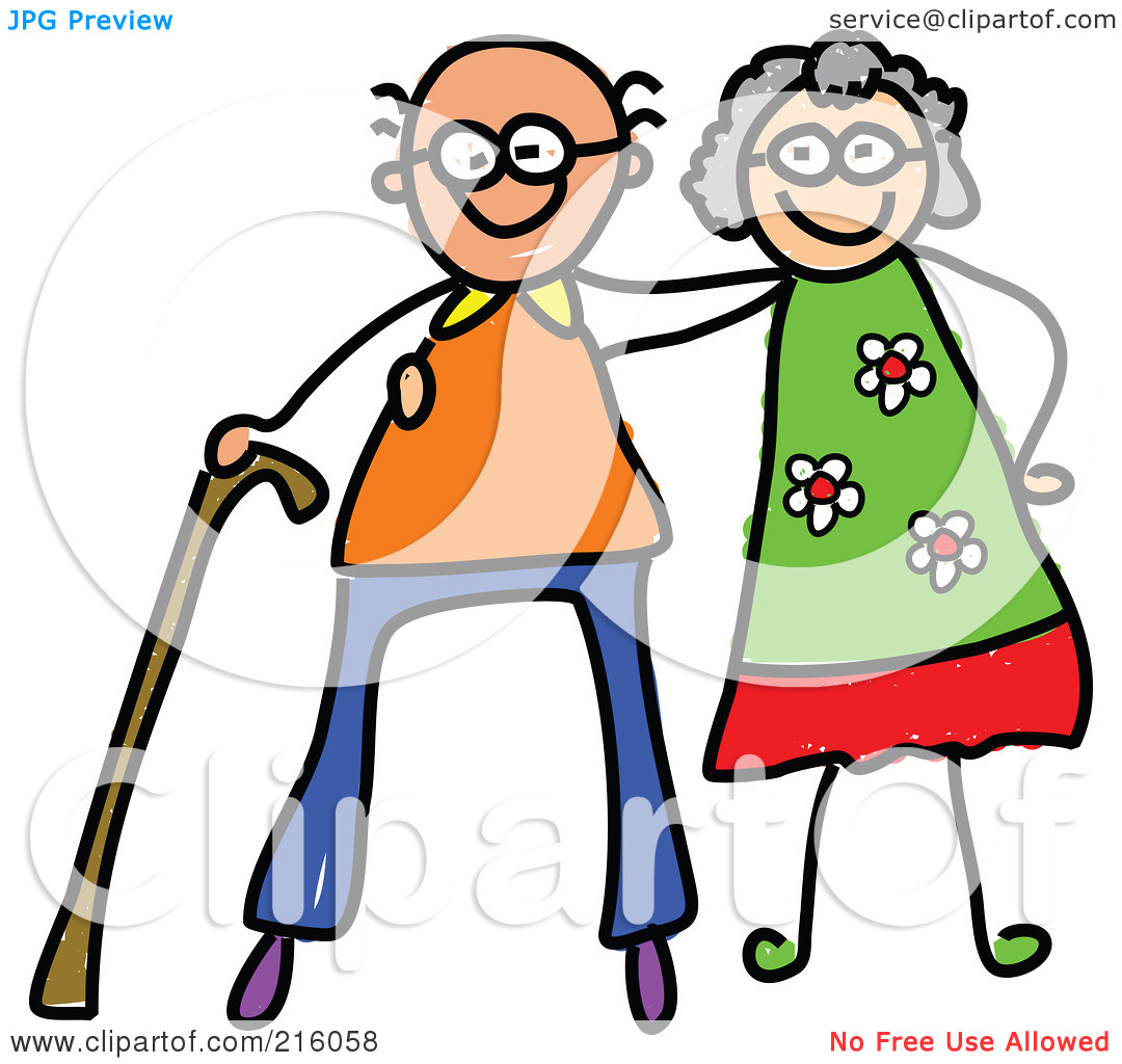 1080x1024 Elderly Couple Clip Art Clipart
