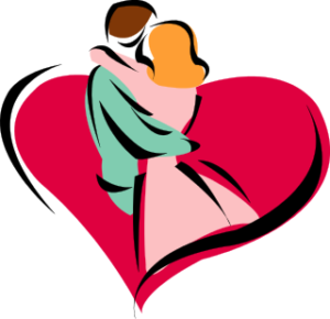 300x290 6455516f416a76a0530630895636fac1 Happy Couple Clipart Cliparts