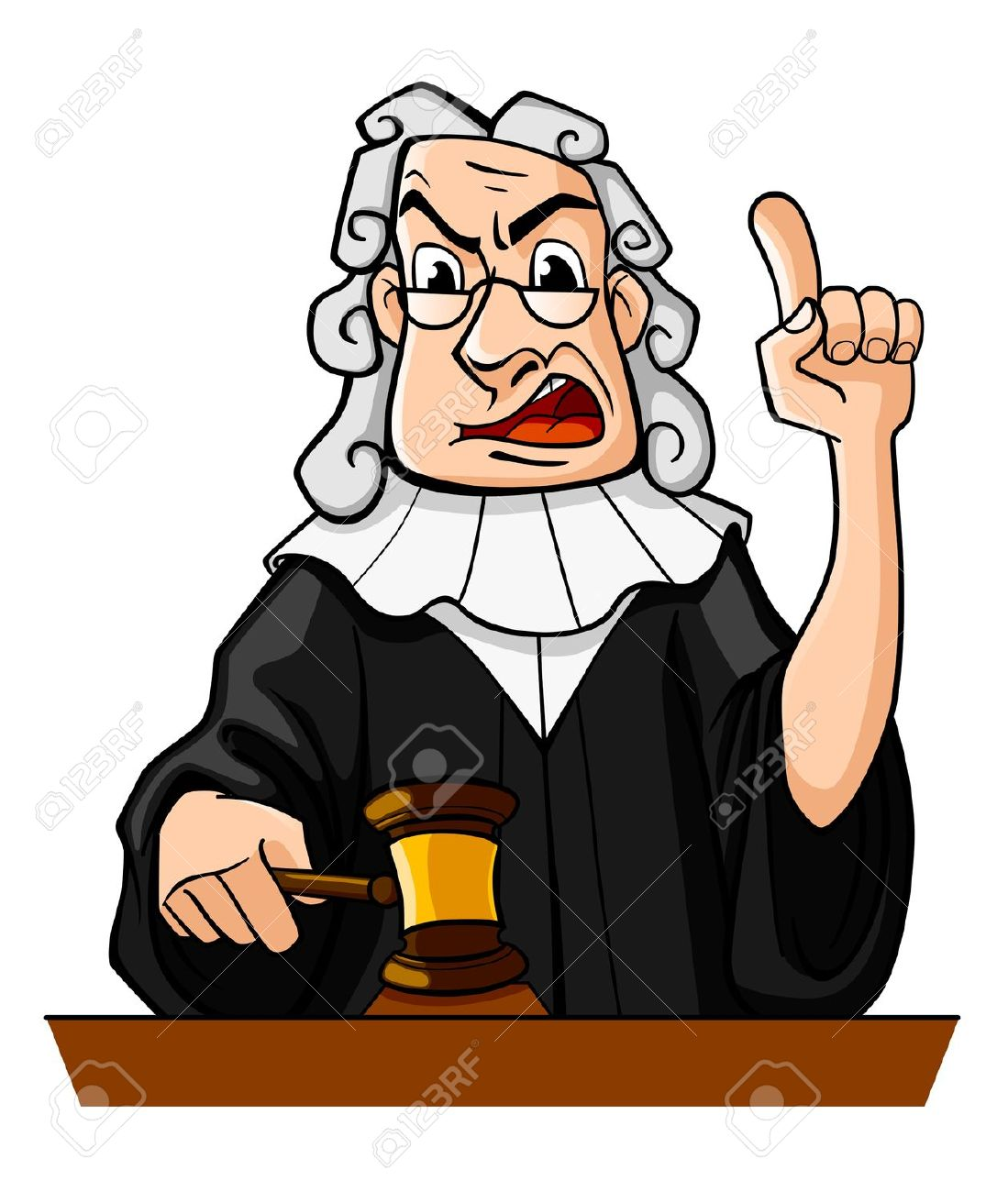 Courtroom Clipart