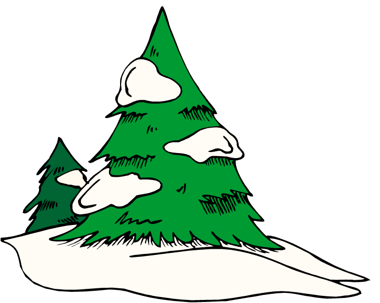 750x598 Green Tree Snow Clipart, Explore Pictures