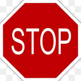 260x260 Stop Sign No Symbol Warning Sign Red Clip Art
