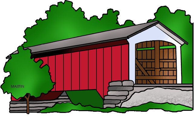 648x393 United States Clip Art By Phillip Martin, Famous Landmarks
