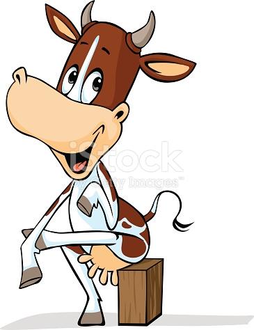 365x474 Cow Clipart Vector Cute Simple Outline