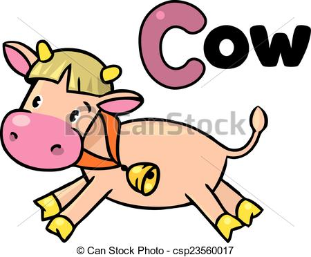 450x372 C For Cow Clip Art Vector Graphics. 17 C For Cow Eps Clipart
