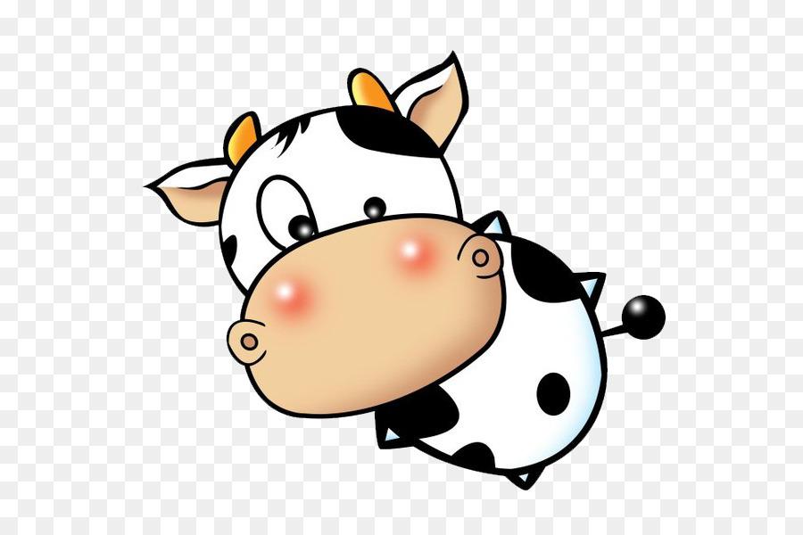 900x600 Calf Cattle Cartoon