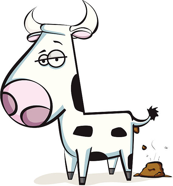 Cow Cartoon Clipart