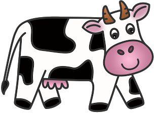 320x226 Cow Clip Art Free Cartoon Clipart Panda