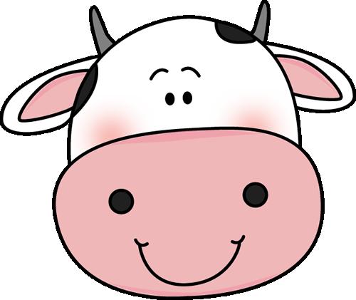 500x421 Cow Clip Art Clipartlook