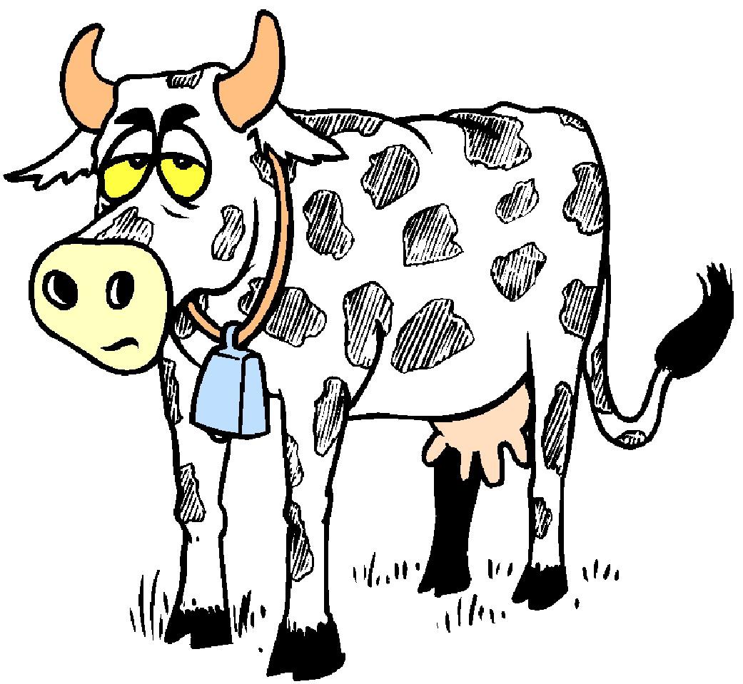 1041x959 Cows Clipart