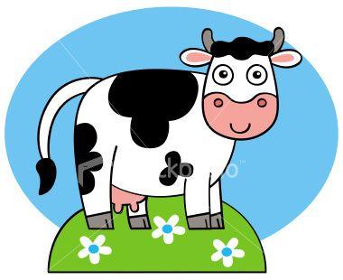 380x310 Dead Cow Cartoon Free Download Clip Art