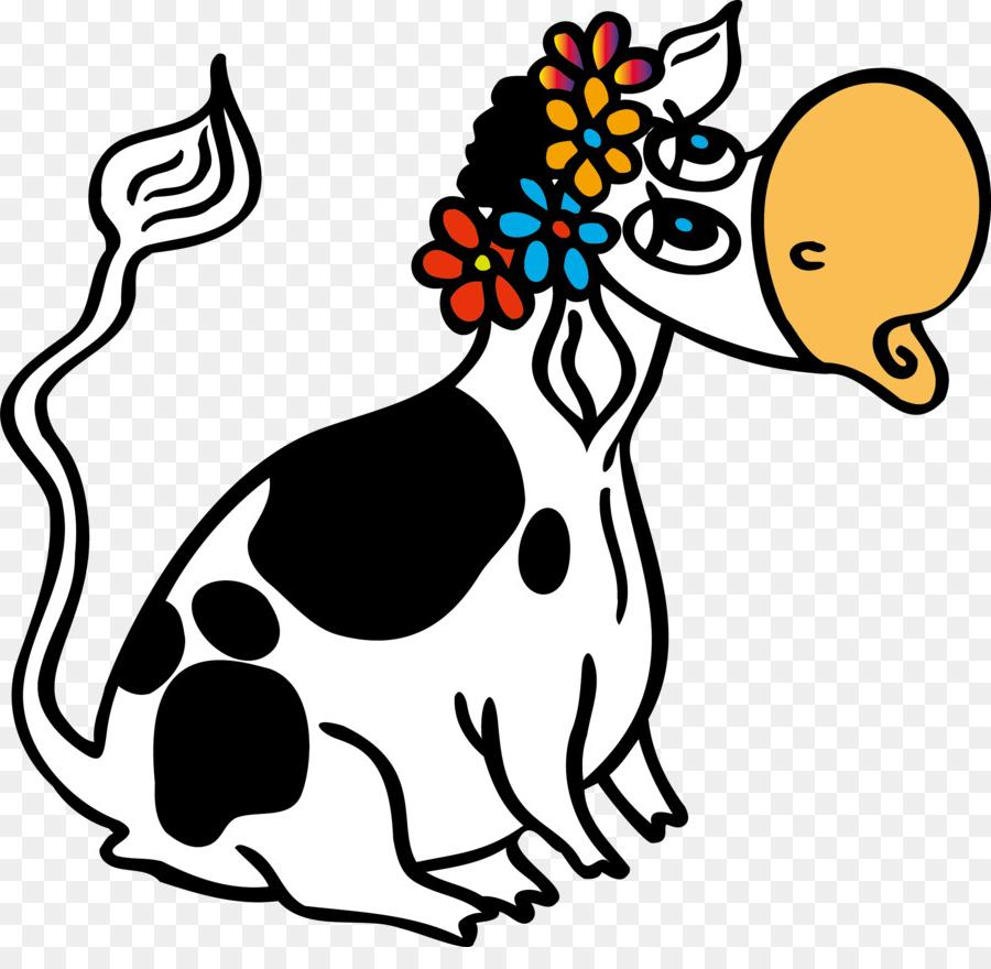 900x880 Top 10 Kiss Cattle Cartoon Drawing Coloring Book Clip Art Cow