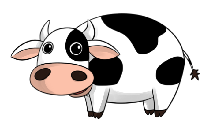 696x425 Collection Of Cow Clipart Transparent Background High