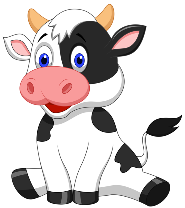 600x675 Pin By Shoshanav On Animals Clipart Cow, Clip Art