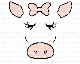 340x270 Imposing Ideas Cartoon Cow Face Clipart Head With Shadow Clip Art