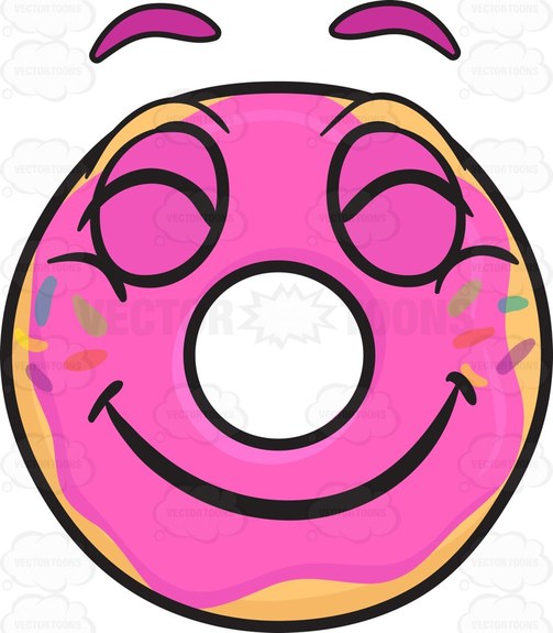 503x575 Best Donut Clipart Ideas On Gallery