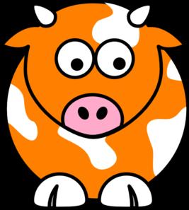267x297 Cow Clipart Blue