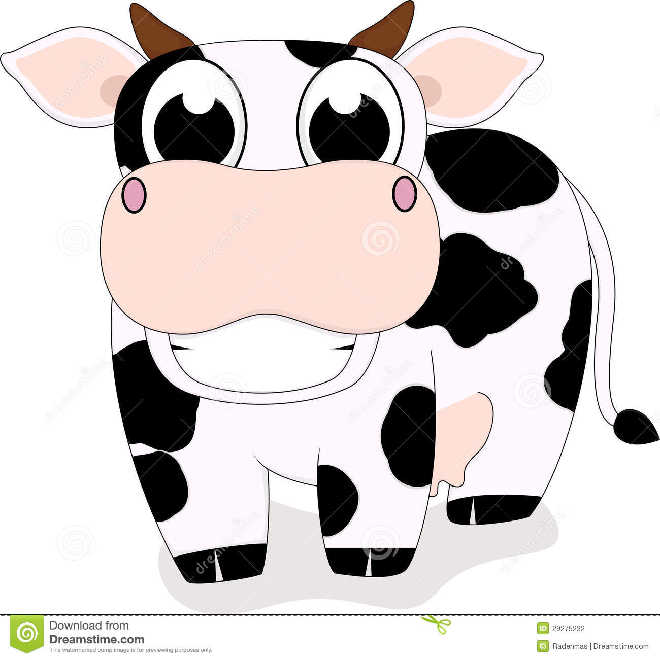 1300x1301 Smile Clipart Cow'16742