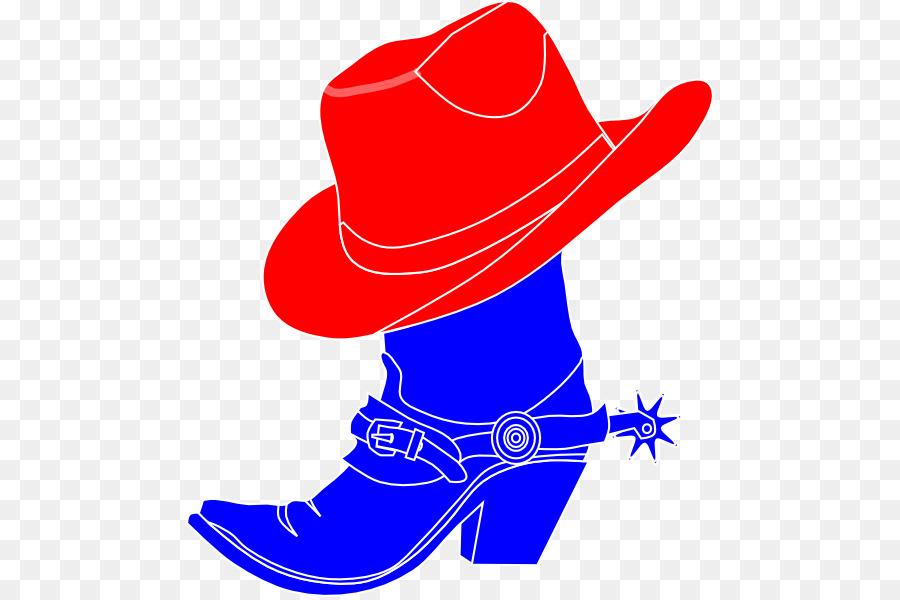 900x600 Cowboy Boot Cowboy Hat Clip Art