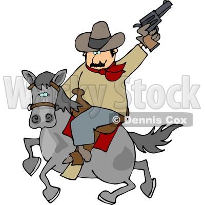 400x400 Gun Shot Clipart Cowboy Gun