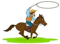 210x153 Gallery Free Cowboy Clip Art,