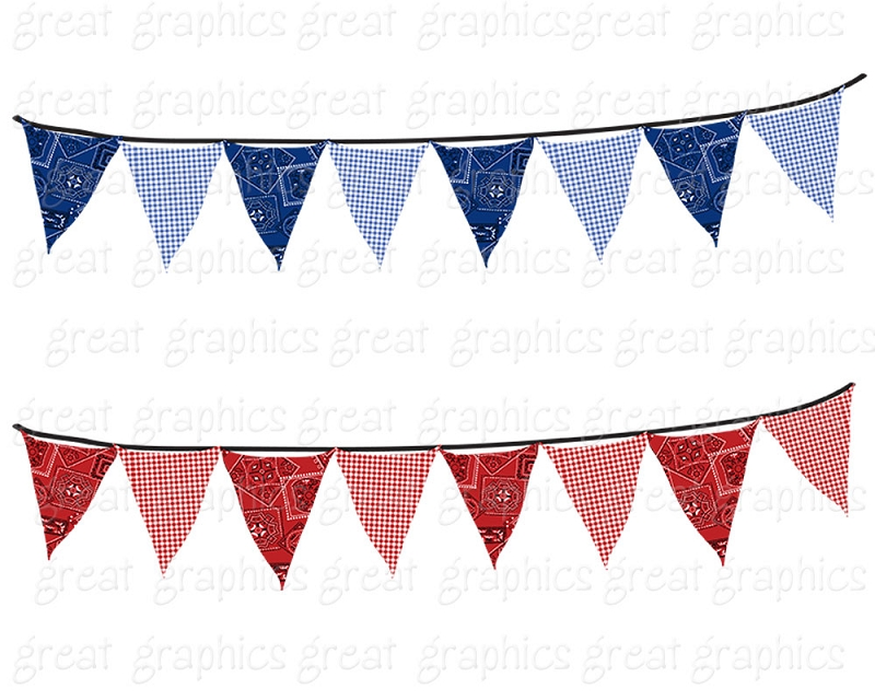 800x640 Image Of Bunting Clipart