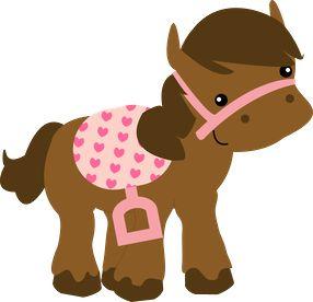 Cowboy Horse Clipart