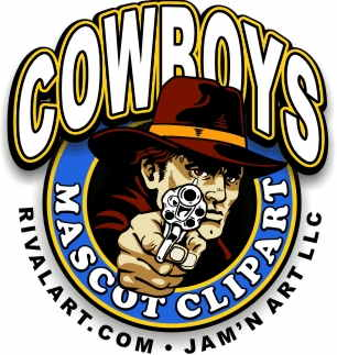306x323 Cowboy Clipart on