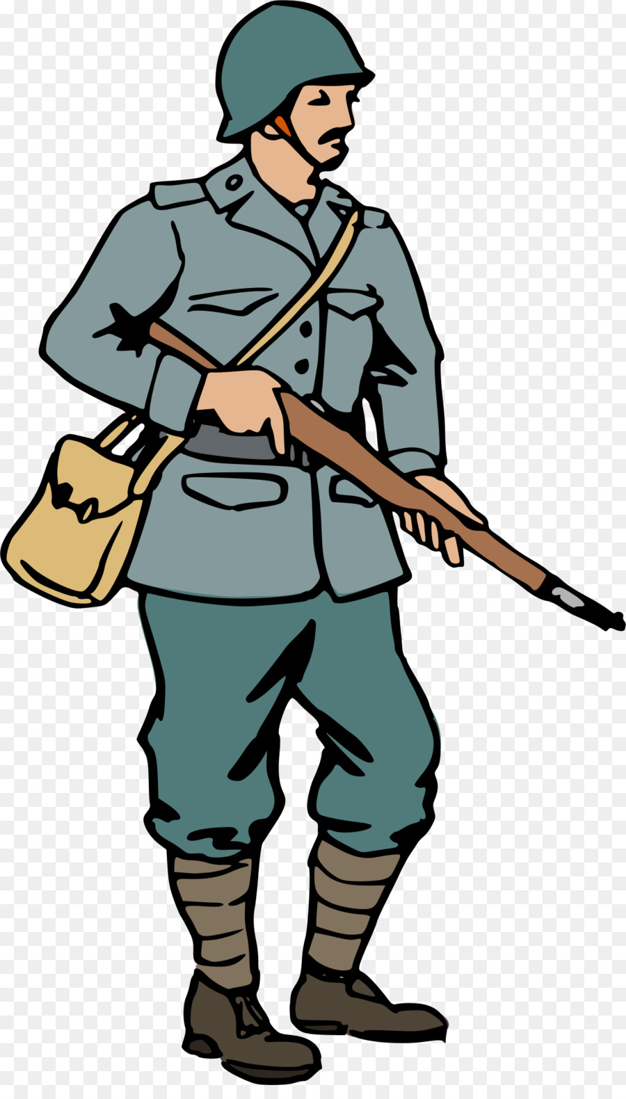 900x1580 Second World War First World War Soldier Clip Art