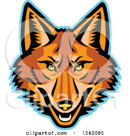 450x470 Royalty Free (Rf) Coyote Clipart, Illustrations, Vector Graphics