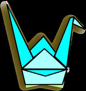 282x297 Origami Crane Svg Clip Arts Download