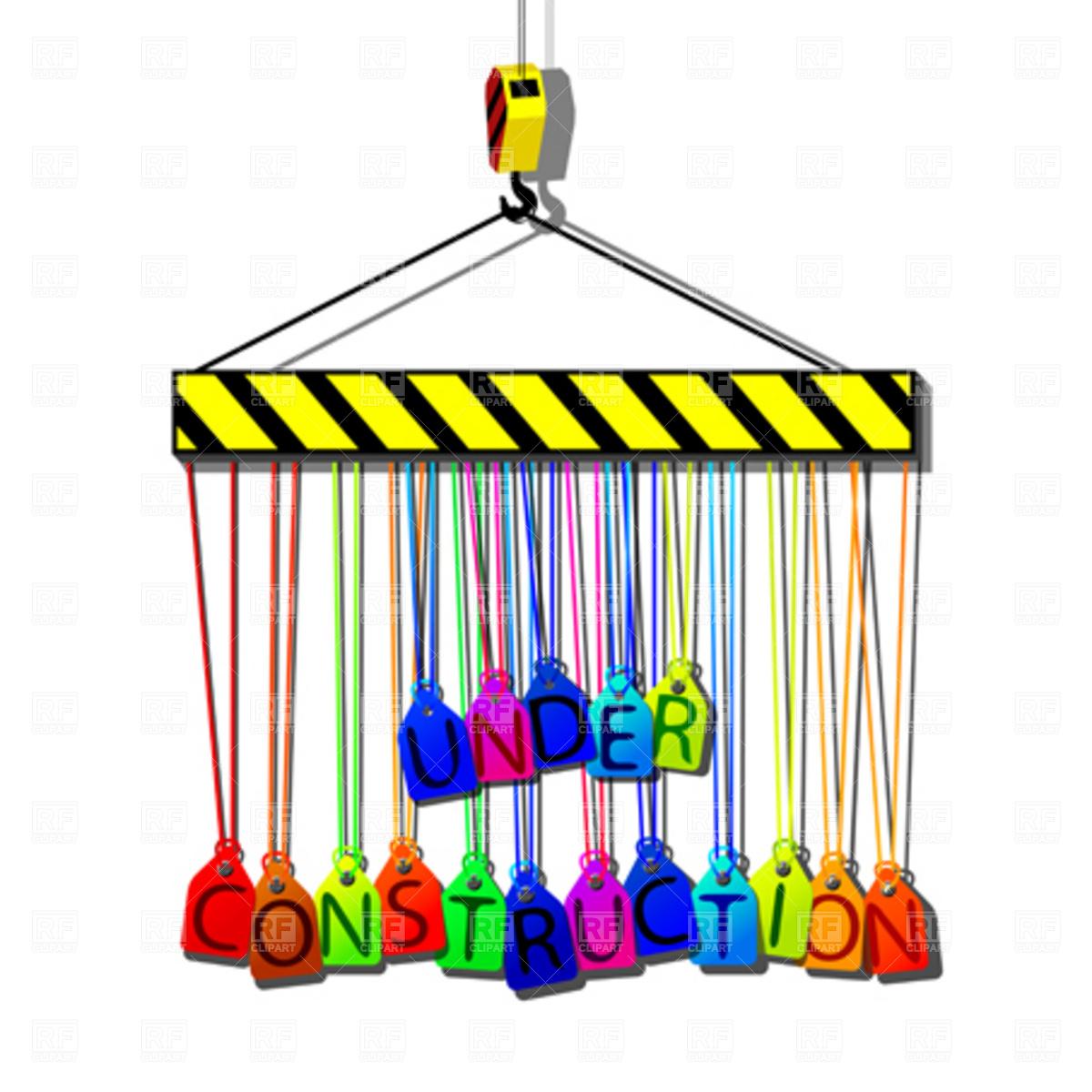 1200x1200 Toy Crane Royalty Free Vector Clip Art Image