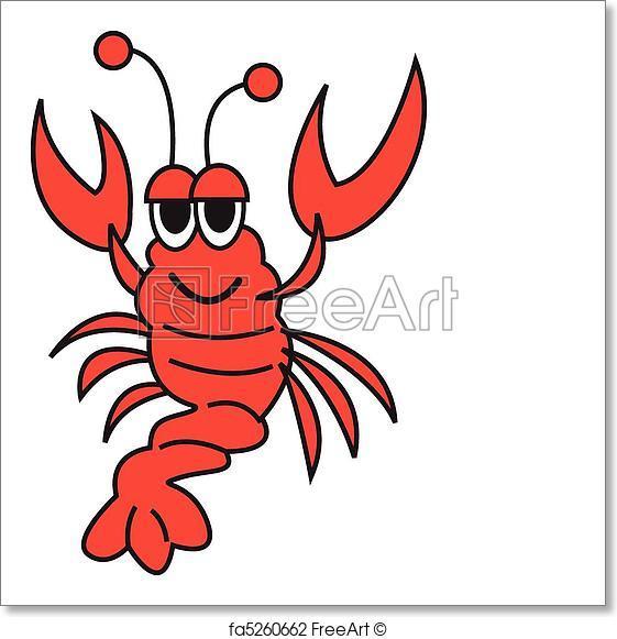 561x581 Free Art Print Of Lobster Vector Clip Art. Lobster Vector Clip Art