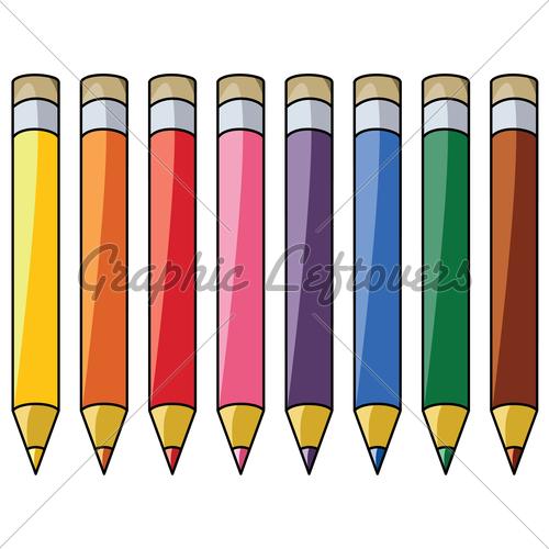500x500 Crayon Clipart Eight